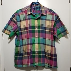 Polo Plaid Blake Shortleeve Button Up